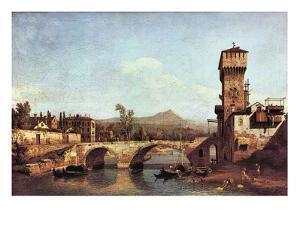 Capriccio Veneto by Canaletto
