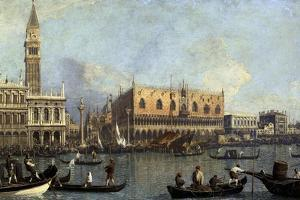 Ducal Palace, Venice, 1755 by Canaletto
