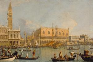 Ducal Palace, Venice by Canaletto