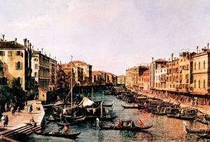 Canaletto Grand Canal [2] Art Print Poster