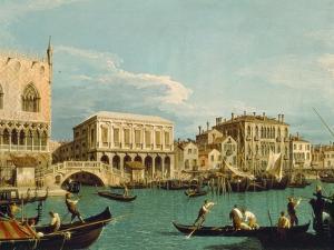 Mole Und Riva Degli Schiavoni as Seen from Bacino Di S.Marco by Canaletto