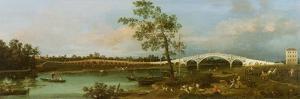 Old Walton's Bridge, 1755 by Canaletto
