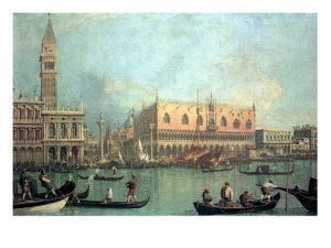 Palazzo Ducale by Canaletto
