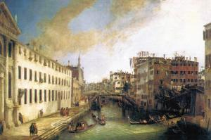River of Mendicanti by Canaletto