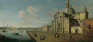San Giorgio Maggiore, Venice by Canaletto