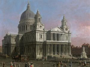 St. Paul's Cathedral, 1754 by Canaletto