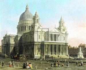 St. Paul's Cathedral by Canaletto