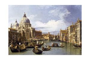The Entrance to the Grand Canal by Canaletto