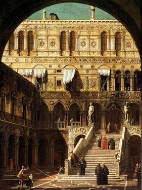 The Giants' Steps, Venice, 1765 by Canaletto