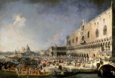 The Reception of the French Ambassador in Venice by Canaletto