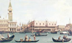 Venice from the Bacino by Canaletto