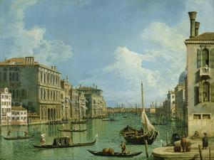 View of the Grand Canal by Canaletto