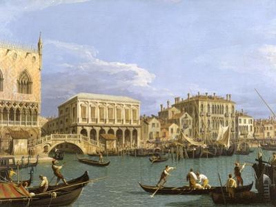 View of the Riva Degli Schiavoni, 1735-1739 by Canaletto