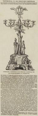 Candelabra Presented to Sir Hercules Pakenham, the Lieutenant-Governor of Portsmouth