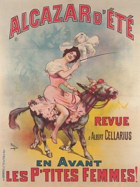 Alcazar D'Ete Poster by Candido Aragonez de Faria