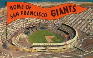 Candlestick Park, Giant's Pennant, San Francisco, California