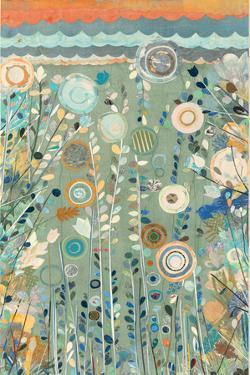 Ocean Garden II Cream by Candra Boggs