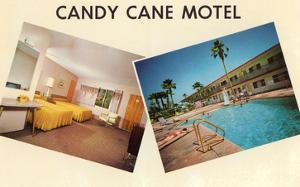 Candy Cane Motel, Retro