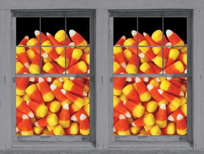 Candy Corn Galore WOWindow Poster