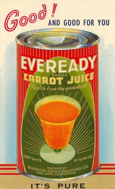 Canned Carrot Juice