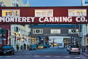 Cannery Row Area at Dawn, Monterey, California, USA
