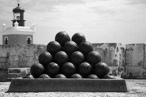 Cannonballs at El Morro San Juan Puerto Rico