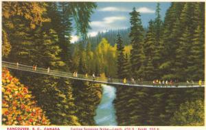 Capilano Bridge, Vancouver, British Columbia