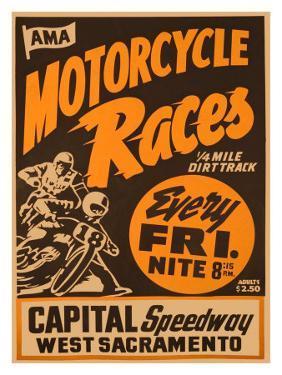 Capital Speedway, California
