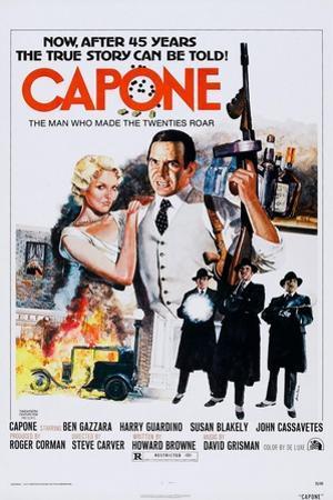 Capone, Top from Left: Susan Blakely, Ben Gazzara, 1975