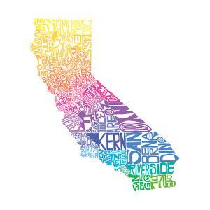 Typographic California Spring by CAPow