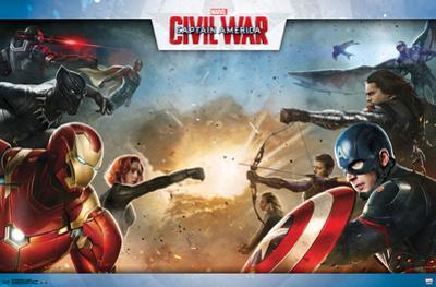 Captain America Civil War- Clash Of Heroes