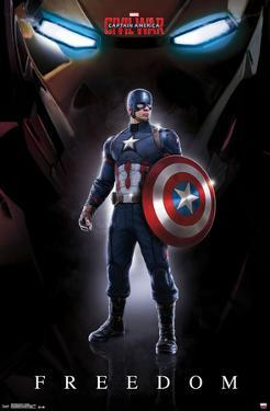 Captain America Civil War- Freedom