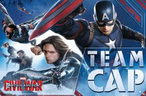 Captain America Civil War- Team Cap In Action