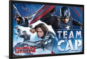 Captain America Civil War- Team Cap In Action