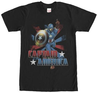 Captain America- Color Burst