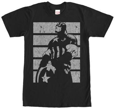 Captain America- Distressed Profile
