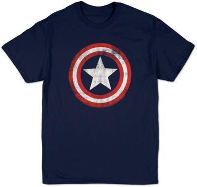 Captain America - Distressed Shield
