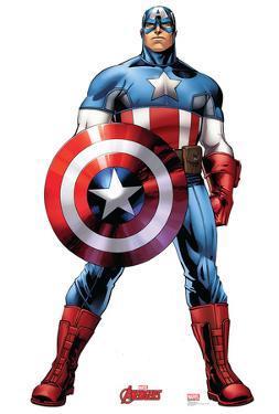 Captain America - Marvel Avengers Assemble Lifesize Cardboard Cutout