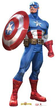 Captain America - Marvel Contest of Champions Game Lifesize Standup