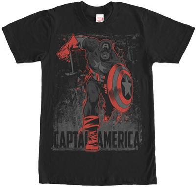Captain America- Scarlet Charge