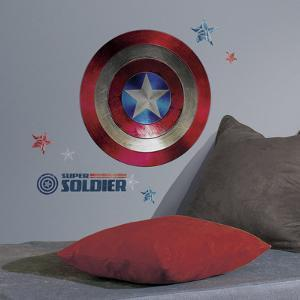 Captain America Shield Civil War Peel and Stick Giant Wall Decals