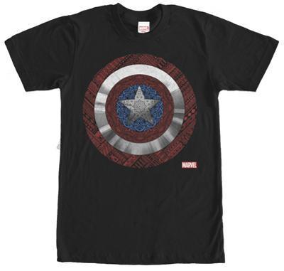 Captain America- Shield Mandala