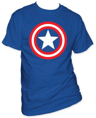 Captain America - Shield on Royal