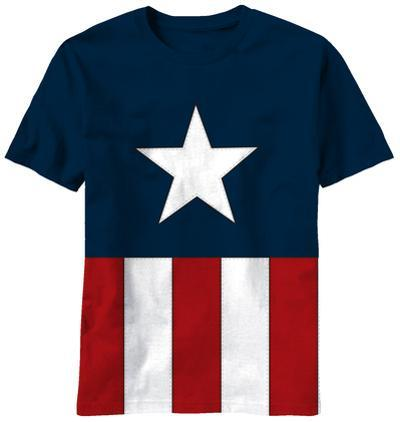 Captain America - Tee Caps (Cut and Sew)