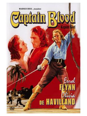 Captain Blood, Swedish Movie Poster, 1935