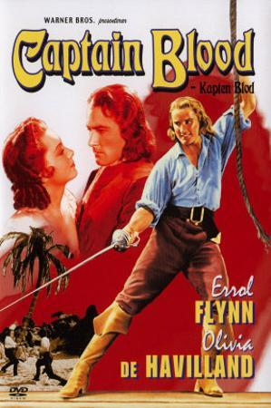 Captain Blood, Swedish Movie Poster, 1935