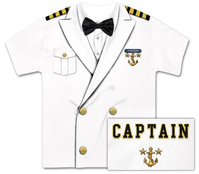 Captain Costume Tee