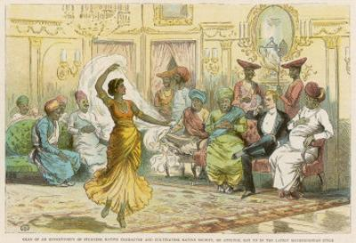 Member of the Bombay Staff Corps is Invited to a Party of Local Notables