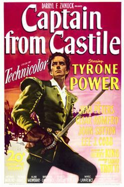 Captain from Castile - Movie Poster Reproduction