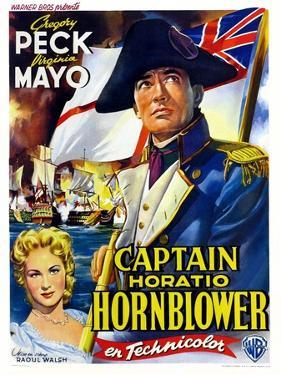 "Captain Horatio Hornblower, 1951, ""Captain Horatio Hornblower R. N."" Directed by Raoul Walsh"